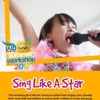 Sing like a star