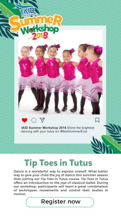 Tiptoes in Tutus